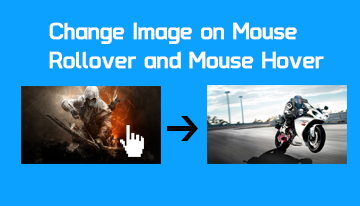 Rollover image – Change image on hover/mouse over